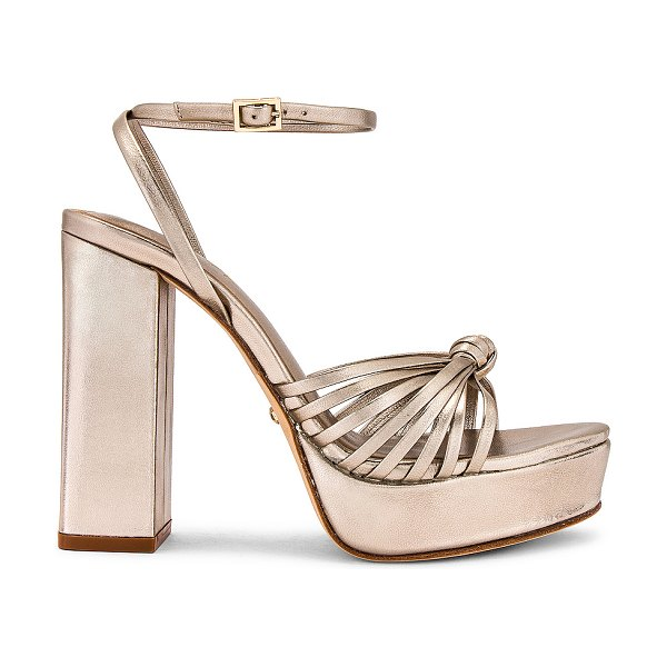 RAYE alessi heel in pale gold
