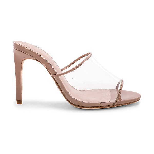 "RAYE Barbie Heel in beige - ""Man made upper with leather sole. Slip-on styling. Heel..."