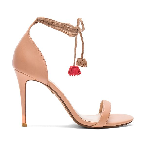 "RAYE Betsy Heel in beige - ""Keeping it classy but sassy. The Betsey Heels feature..."