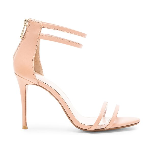 """RAYE Bettina heel - Leather upper with rubber sole. Heel measures approx 4""""""""..."""