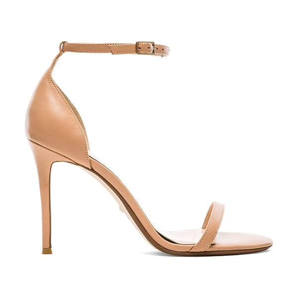 "RAYE Blake Heel in beige - ""Leather upper with man made sole. Heel measures approx..."