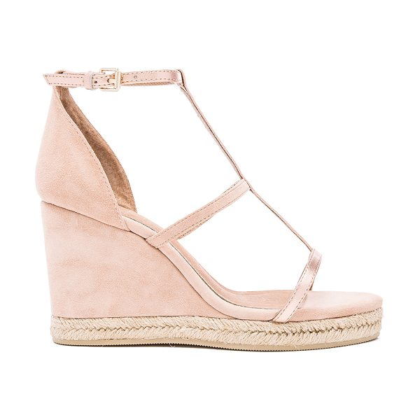 RAYE Dillon Wedge - Suede and metallic leather upper with man made sole....