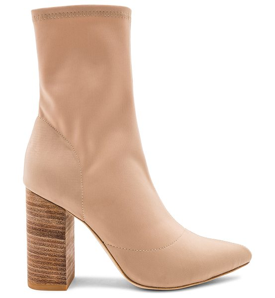 """RAYE Fable Bootie in beige - """"Keep your outfits in the moment with RAYE's Fable..."""