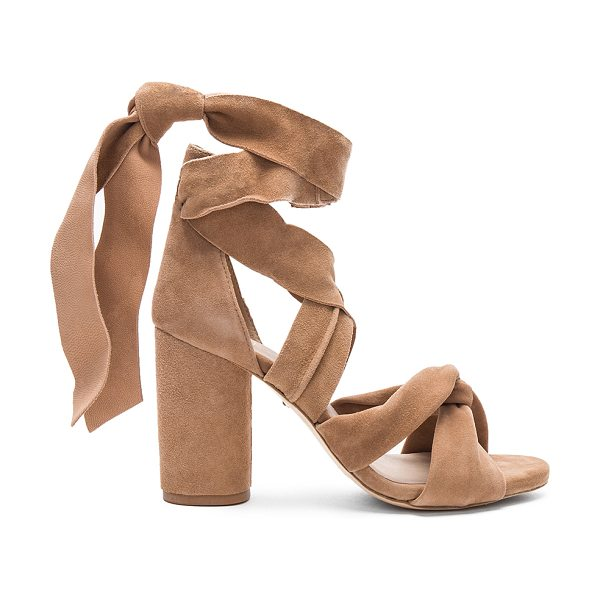 RAYE Mandy Heel in tan - Straight up or with a twist. RAYE's Mandy Heels features...