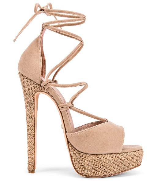 RAYE shiloh heel in tan - RAYE Shiloh Heel in Tan. - size 9 (also in...