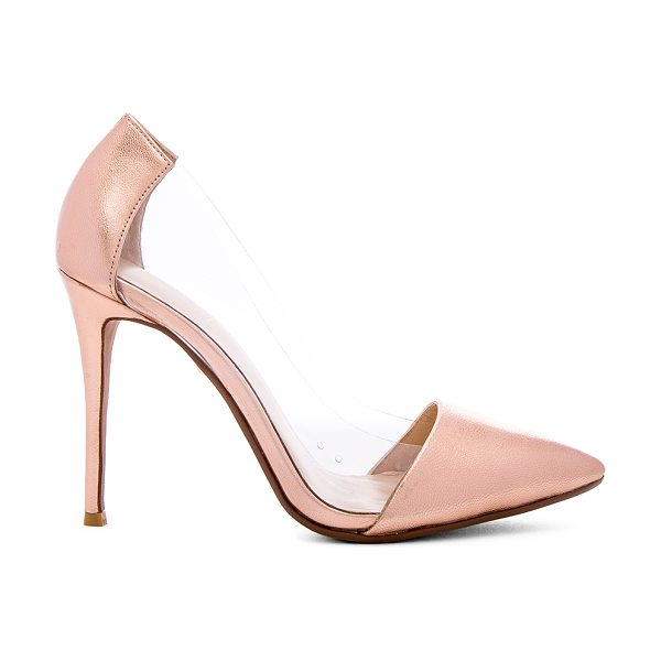 RAYE Terry Pump - Metallic leather and vinyl upper with man made sole....