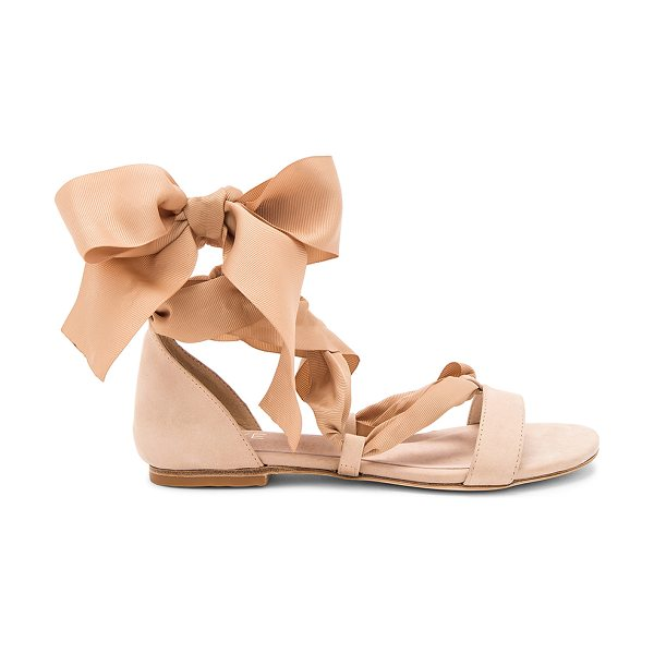 RAYE x REVOLVE Ami Sandal in tan - Drama and design all wrapped in one with RAYE's Ami...