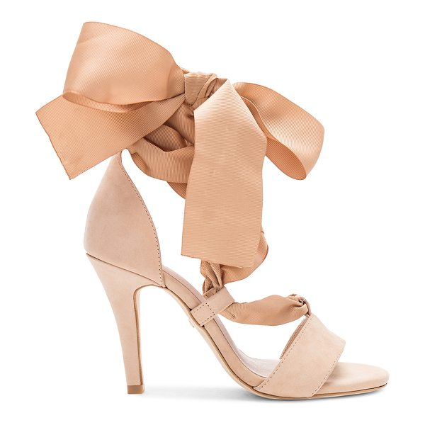 "RAYE x REVOLVE Avery Heel in nude - ""Drama and design all wrapped in one with RAYE's Avery..."