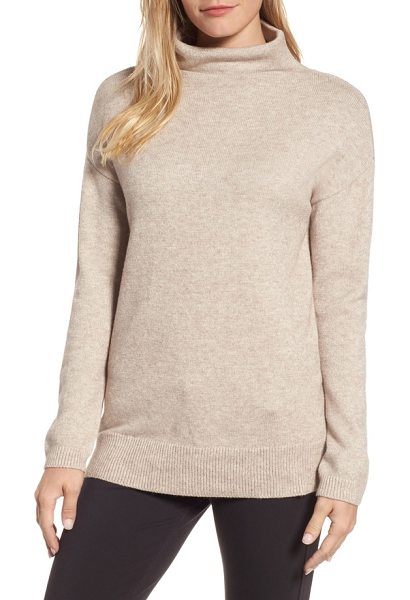 RDI rd style funnel neck sweater in oatmeal - The kind of soft and cozy pullover you'll reach for...