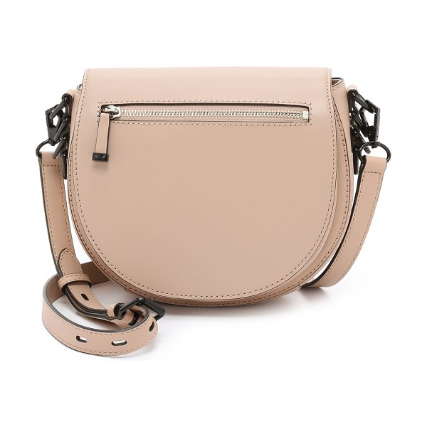 Rebecca Minkoff Astor saddle bag in latte - A leather Rebecca Minkoff bag in a classic saddle...