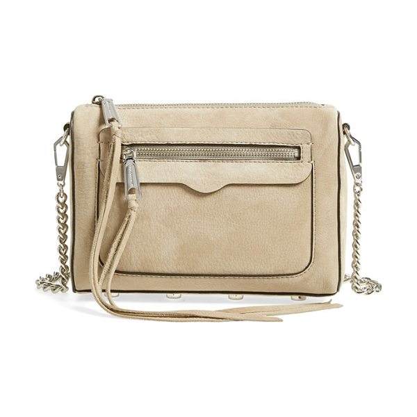 Rebecca Minkoff 'avery' crossbody bag in sandstone
