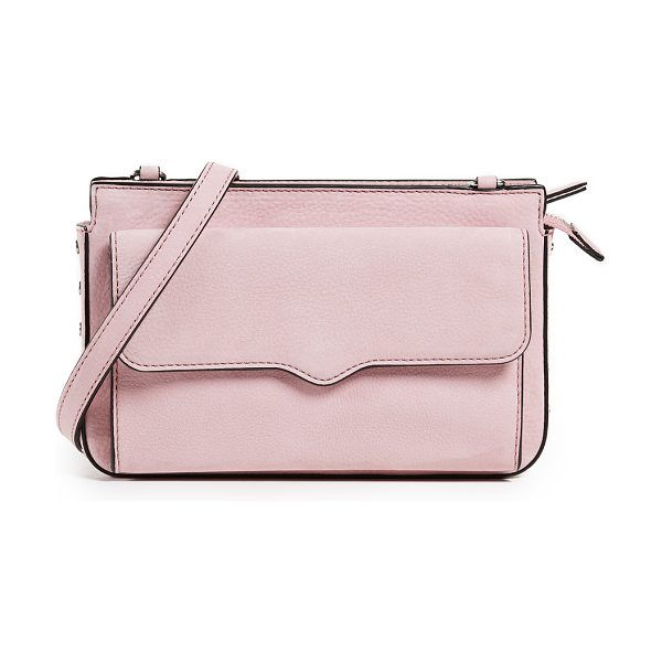 Rebecca Minkoff bree wallet cross body bag in blossom - Leather: Cowhide Leather & curb chain strap Zip at top...