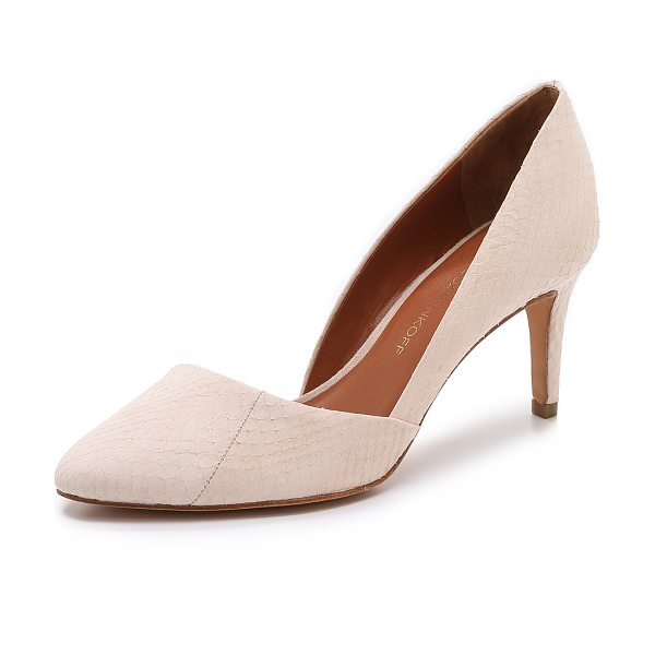 Rebecca Minkoff Brie pumps in blush