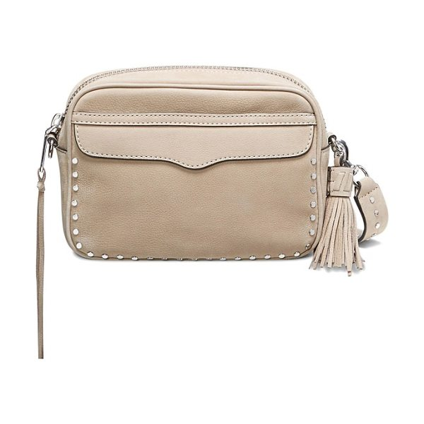 REBECCA MINKOFF bryn nubuck camera bag - Signature detailing familiar to Minkoff fans from the...