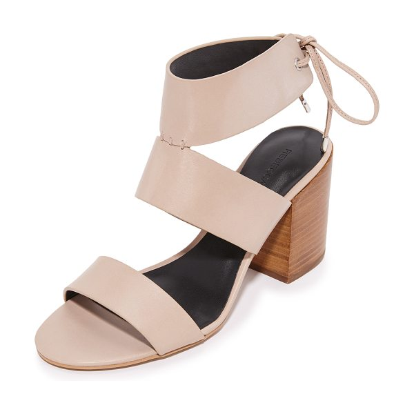 REBECCA MINKOFF christy sandals - Smooth leather Rebecca Minkoff sandals, styled with a...