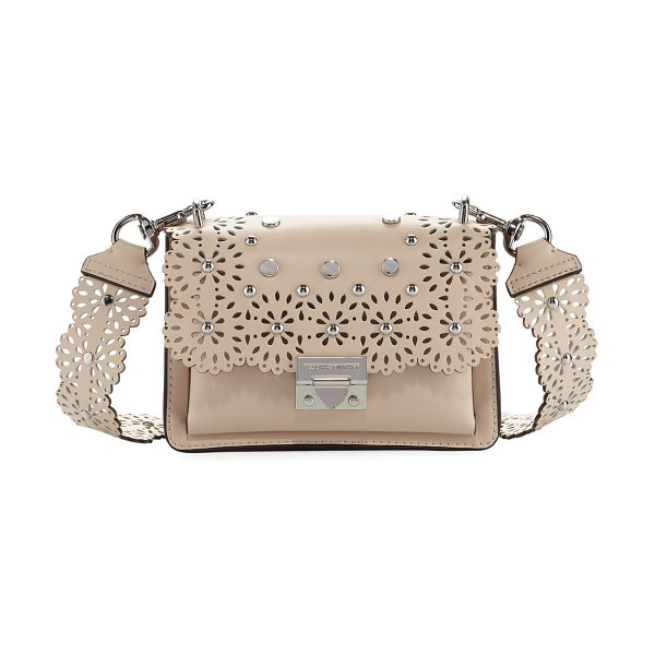 REBECCA MINKOFF Christy Small Cutout Shoulder Bag - EXCLUSIVELY AT NEIMAN MARCUS (Nude only) Rebecca Minkoff...
