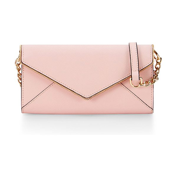 REBECCA MINKOFF Cleo wallet-on-a-chain bag - Rebecca Minkoff saffiano leather wallet-on-a-chain....