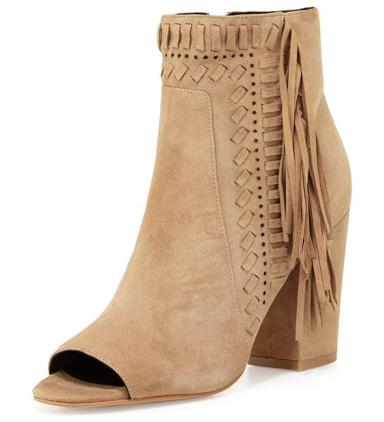 REBECCA MINKOFF Iris Suede Fringe Bootie - ONLYATNM Only Here. Only Ours. Exclusively for You....