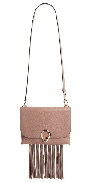 Rebecca Minkoff isabel fringe leather shoulder bag in brown