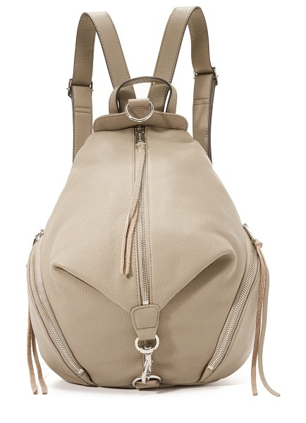 Rebecca Minkoff Julian backpack in sandstone - Rebecca Minkoff offers a mid sized leather backpack in...