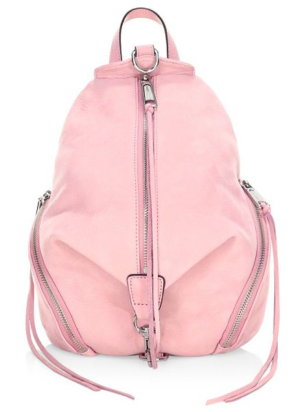 REBECCA MINKOFF julian backpack in vintagepink - Chic nylon backpack for your everyday collection. Top...