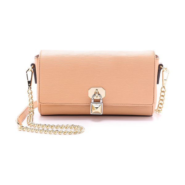 Rebecca Minkoff Lane cross body bag in apricot