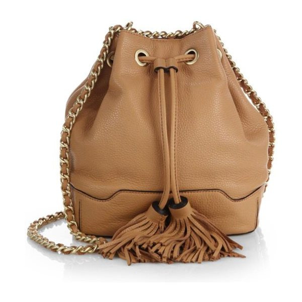 Rebecca Minkoff Lexi bucket bag in tan