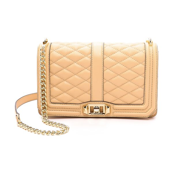 REBECCA MINKOFF Love cross body bag - A Rebecca Minkoff cross body bag in quilted leather. A...