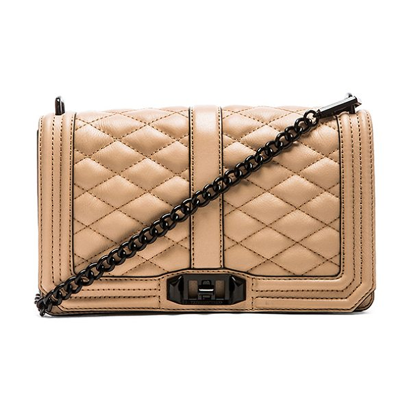 Rebecca Minkoff Love crossbody in taupe