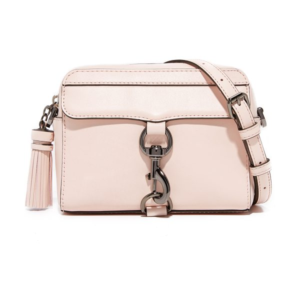 REBECCA MINKOFF mab camera bag - A structured Rebecca Minkoff cross-body bag detailed...
