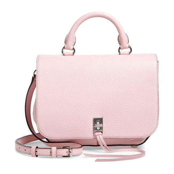 Rebecca Minkoff medium darren convertible leather backpack in peony
