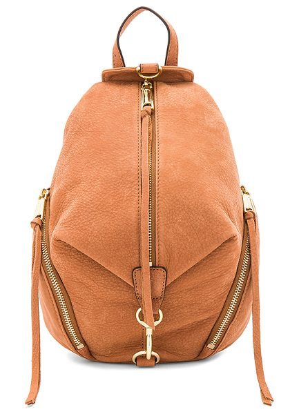 Rebecca Minkoff Medium Julian Backpack in almond
