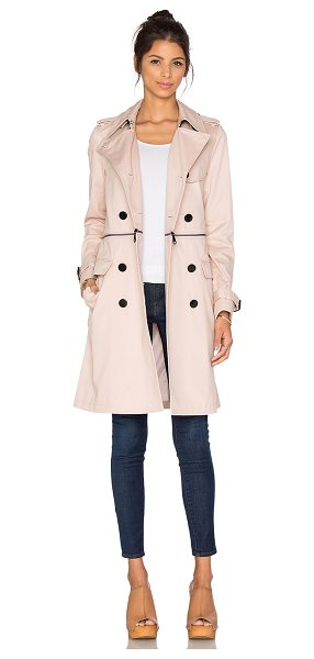 Rebecca Minkoff Melissa trench in blush - Shell: 100% cottonLining: 100% poly. Professional dry...