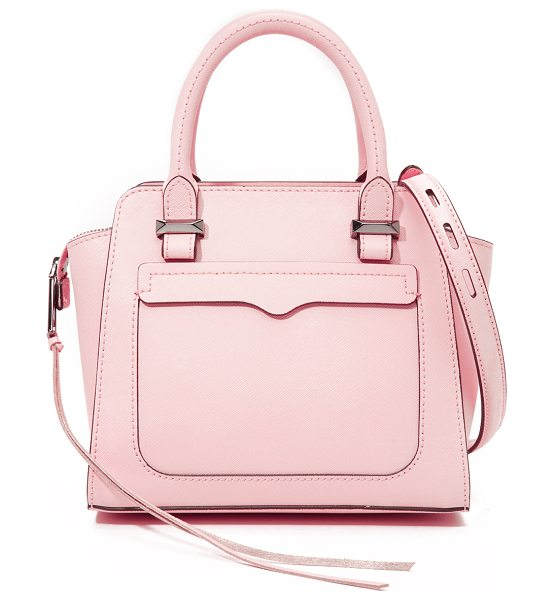 Rebecca Minkoff Micro avery tote in pale blush - A miniature version of Rebecca Minkoff's signature Avery...