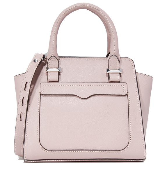 Rebecca Minkoff Micro avery tote in vintage pink - A miniature version of Rebecca Minkoff's signature Avery...