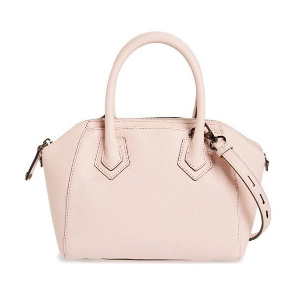 Rebecca Minkoff Micro perry satchel in khaki/ light gold hrdwr - A petite, vintage-inspired dome satchel shaped from...