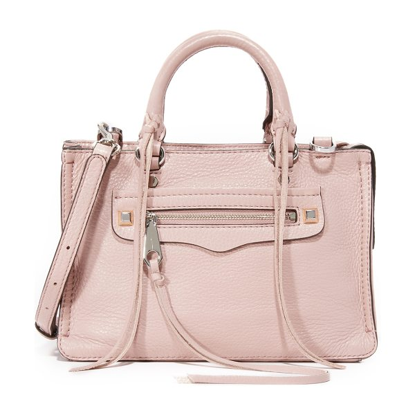 Rebecca Minkoff Micro regan satchel in vintage pink - A scaled down Rebecca Minkoff satchel in soft, pebbled...