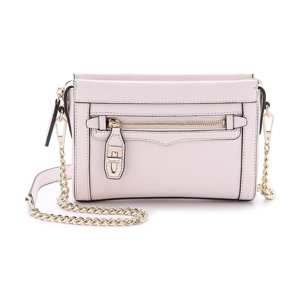Rebecca Minkoff Mini crosby cross body bag in seashell