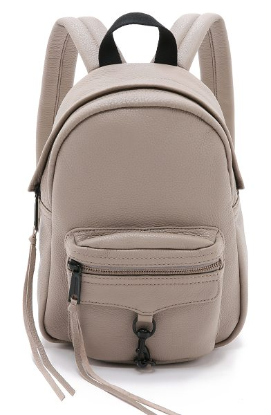 Rebecca Minkoff Mini mab backpack in sandstone - A scaled down version of the signature Rebecca Minkoff...