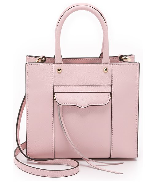 Rebecca Minkoff Mini mab tote in baby pink - A scaled down version of Rebecca Minkoff's signature MAB...