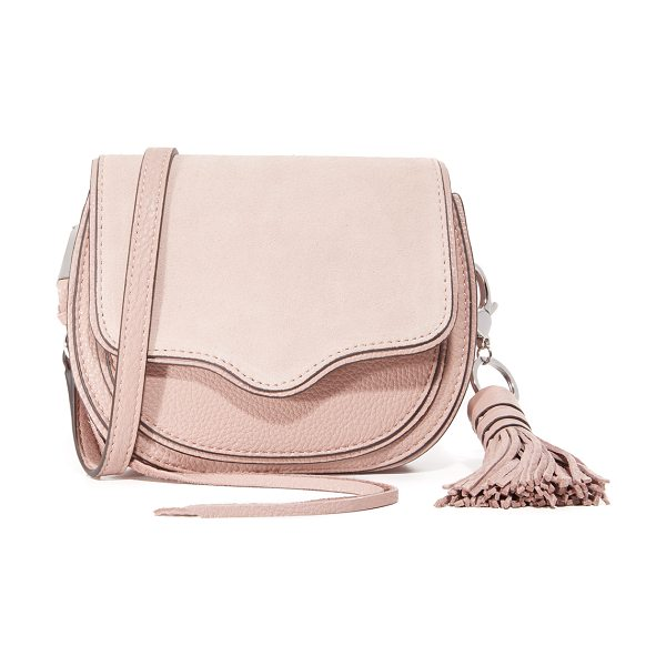 REBECCA MINKOFF Mini suki cross body bag - A sturdy Rebecca Minkoff saddle bag in a petite profile....