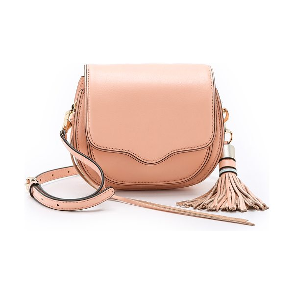 Rebecca Minkoff Mini sydney cross body bag in apricot