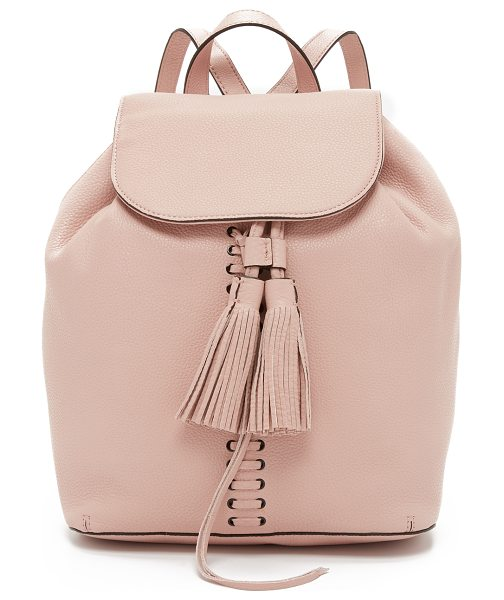 Rebecca Minkoff Moto backpack in latte