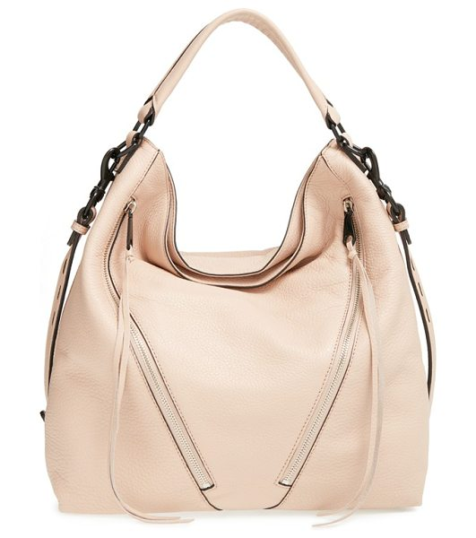 Rebecca Minkoff Moto hobo bag in latte
