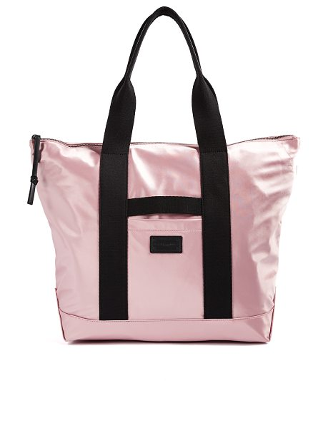 Rebecca Minkoff nylon tote in vintage pink - Fabric: Nylon Smartphone pocket Zip at top Patch...