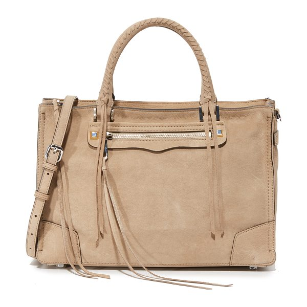 Rebecca Minkoff Regan satchel in sand stone - A large Rebecca Minkoff satchel in soft suede....
