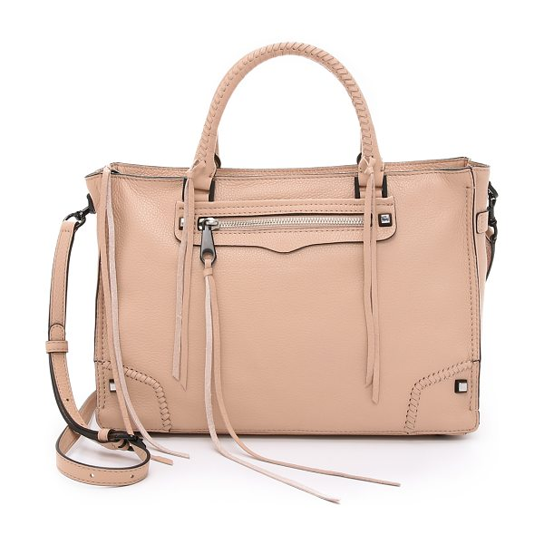 Rebecca Minkoff Regan satchel in latte - A large Rebecca Minkoff tote in pebbled leather....