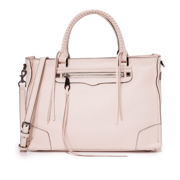 Rebecca Minkoff regan satchel tote in soft blush - A large Rebecca Minkoff satchel in pebbled leather....