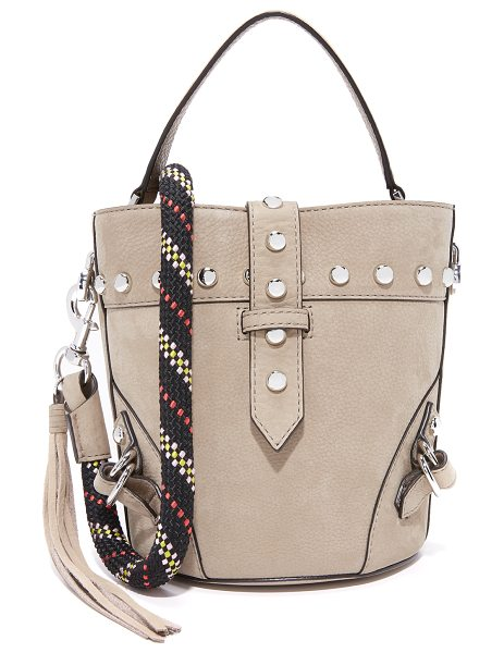 Rebecca Minkoff rose mini tote with climbing rope in sandstone - A scaled-down Rebecca Minkoff tote with a slim strap...