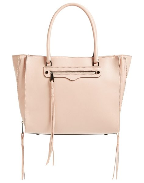 REBECCA MINKOFF Side zip regan tote - Trailing zip tassels extend the dramatic modern style of...